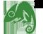 Small Chameleon Logo